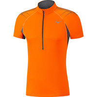 Mizuno Mujin 1/2 Zip Short Sleeved Tee