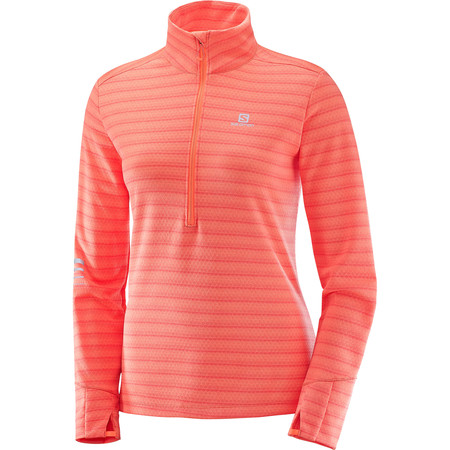 Women's Salomon Lightning ½ Zip Long Sleeve Tee #1