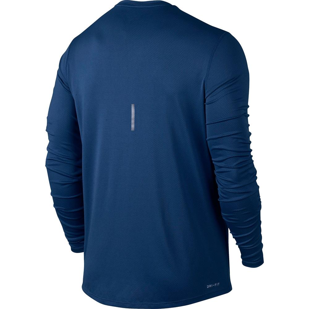 Nike Relay Long Sleeve Tee Blue #2