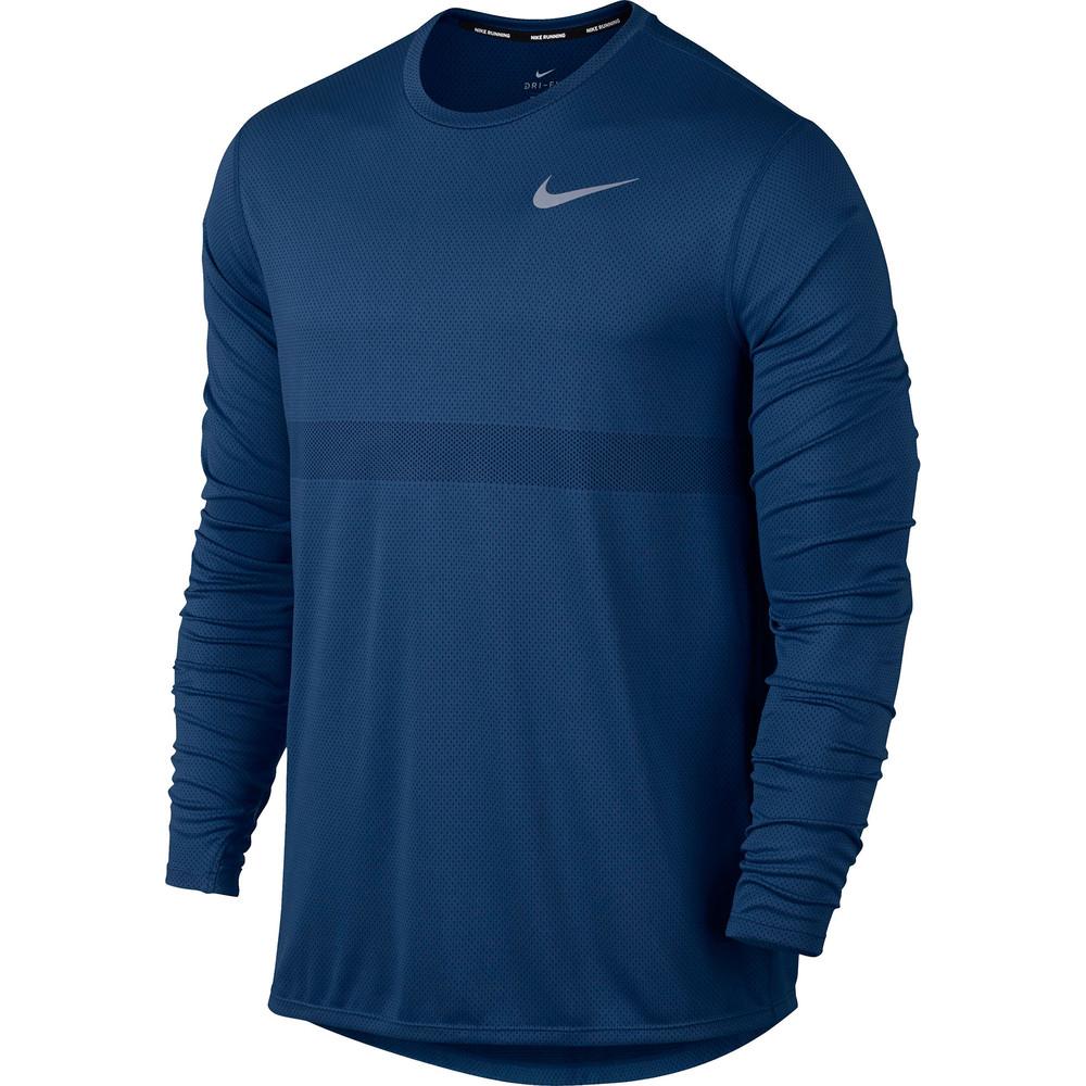 Nike Relay Long Sleeve Tee Blue #1