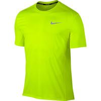 Nike Miler Short Sleeve Tee Yellow