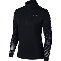 Nike Flash Element ½ Zip Long Sleeve Black