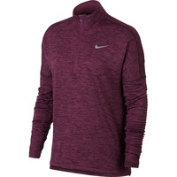 Nike Sphere Element ½ Zip Long Sleeve Plum