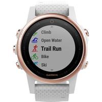 GARMIN  Fenix 5S Sapphire Rose Goldtone Multisport Watch