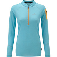 Ronhill Infinity 1/2 Zip Long Sleeved Tee