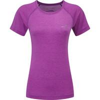 Women's Ronhill Momentum Short Sleeve Tee Purple