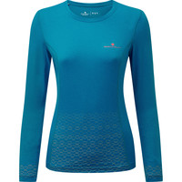 Women's Ronhill Momentum Sirius Long Sleeve Tee Blue