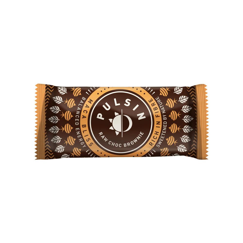Pulsin Choc Brownie Energy Bar #1