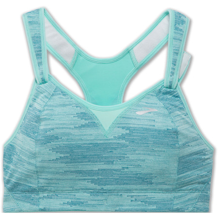 Brooks Rebound Racer Bra Ice Blue #1
