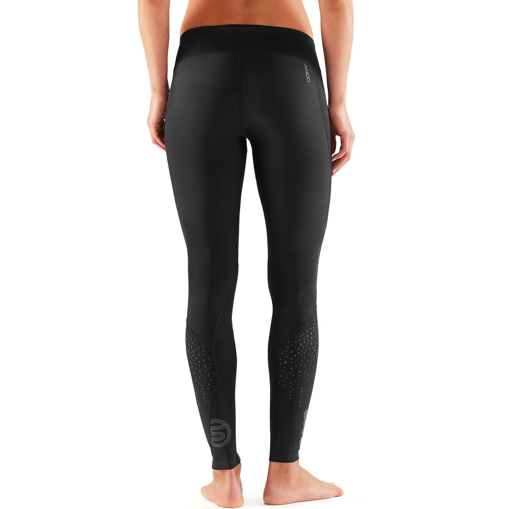 8dd4c7862f Buy Women's Skins A400 Starlight Long Tights New in Black | Run and ...