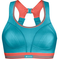 SHOCK ABSORBER  Ultimate Run Bra Turquoise/coral