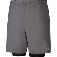 MIZUNO  Alpha 7.5in Twin Shorts
