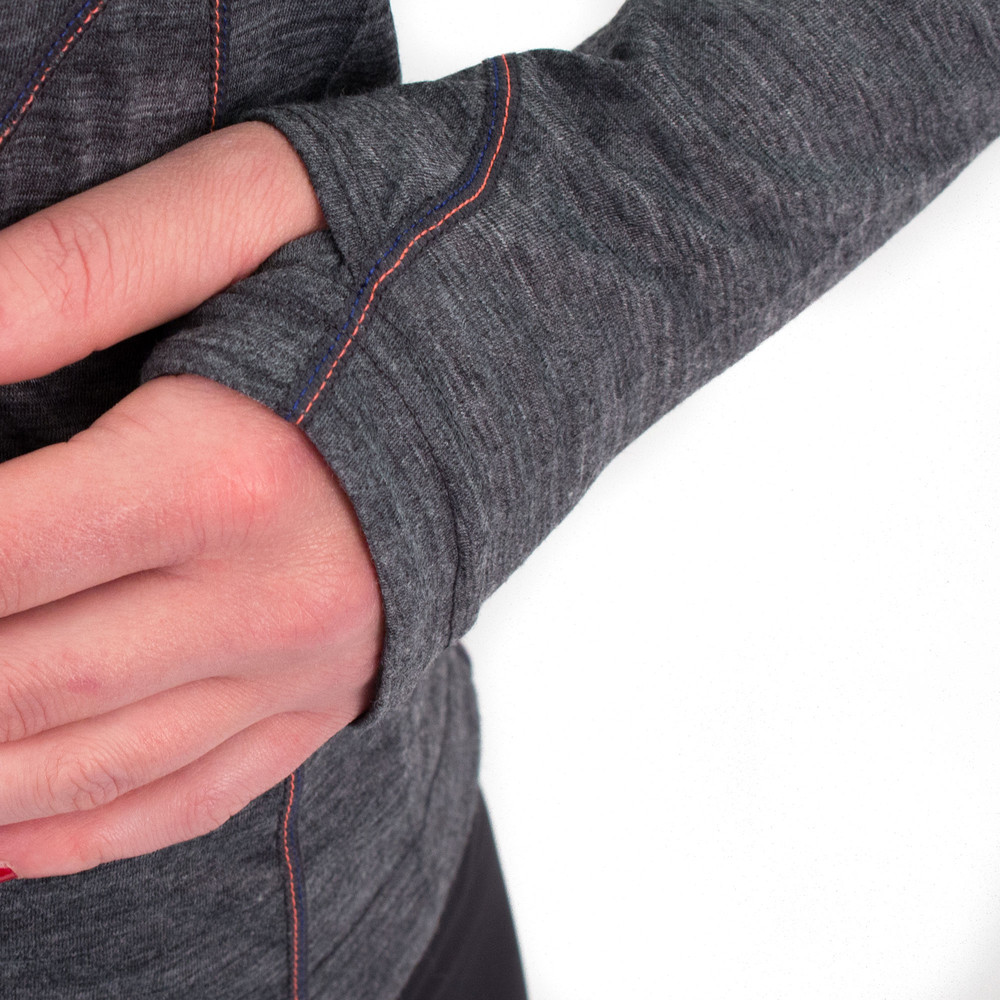 Ronhill Infinity Merino 1/2 Zip Long Sleeve #7
