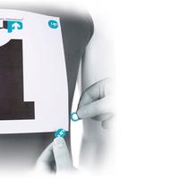 U.P.  Race Number Magnets