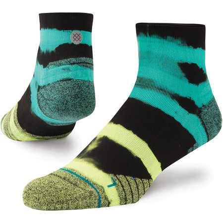 Stance Run Qtr Socks NEW Feel 360 #1