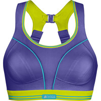 SHOCK ABSORBER  Ultimate Run Bra Purple