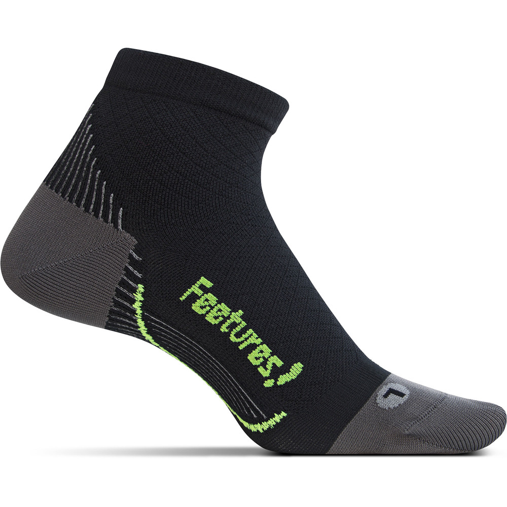 Feetures  Elite U/L Plantar Fasciitis QTR Socks #1