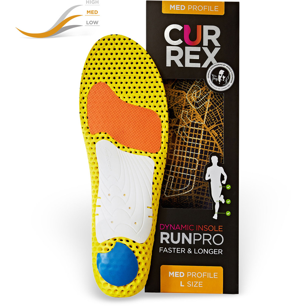 Currex Runpro Medium Arch Insoles #3