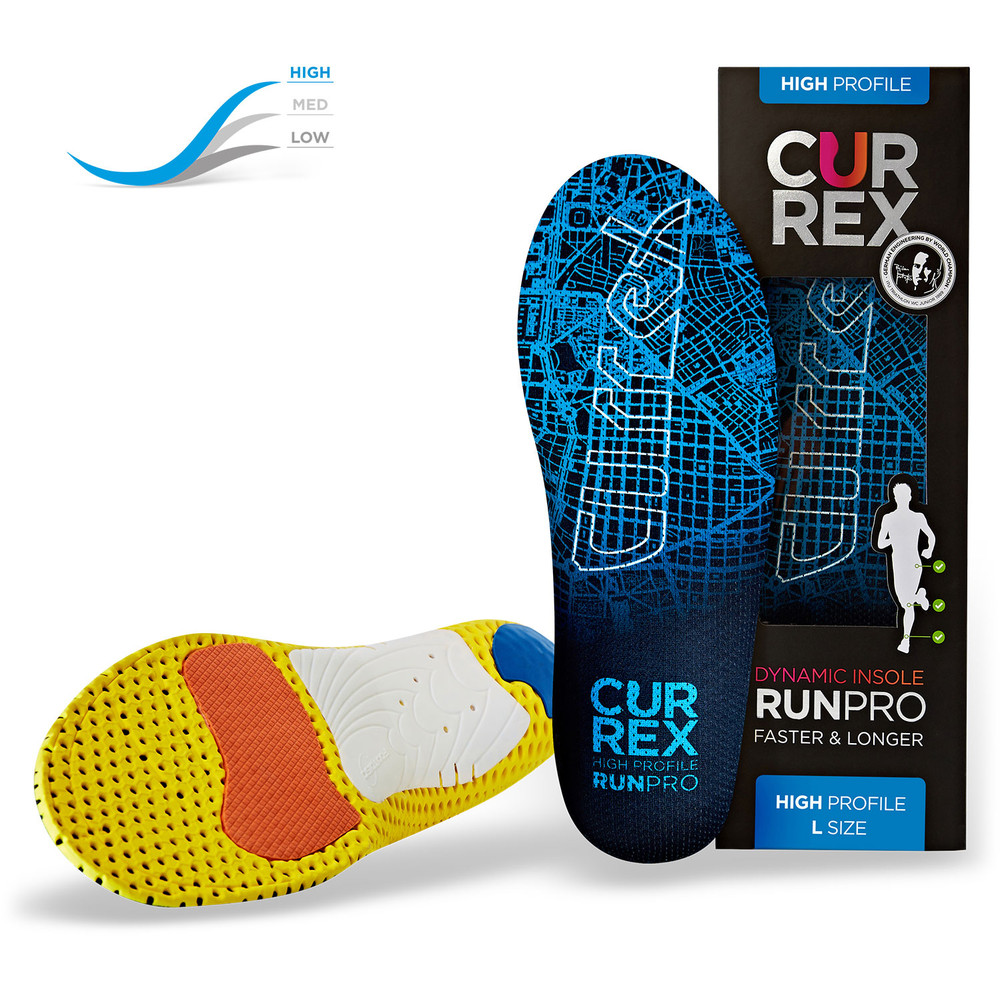 CurrexSole Runpro High Arch Insoles New #1