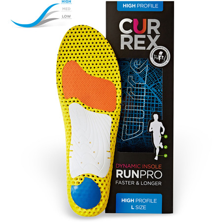 CurrexSole Runpro High Arch Insoles New #3