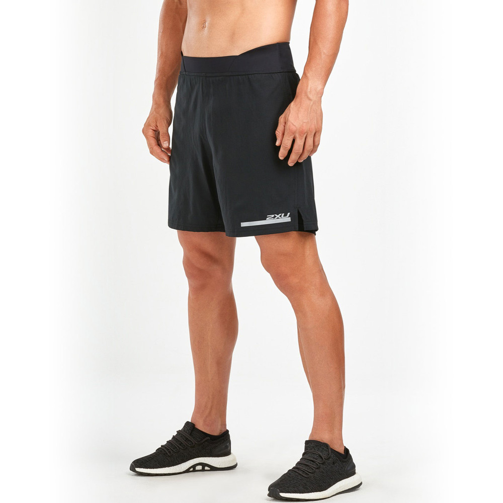 2XU Run 7in Twin Shorts #3