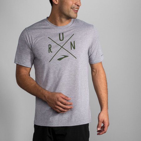 Brooks Distance Graphic Short Sleeve #3