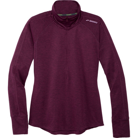 Brooks Dash 1/2 Zip Long Sleeve Tee #1