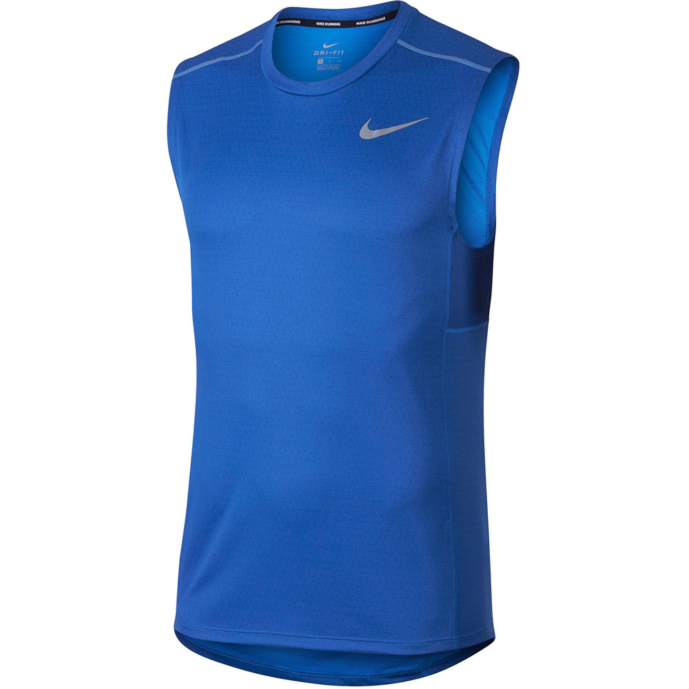 84c7fcb456da Buy Men s Nike Miler Tech Vest in Blue