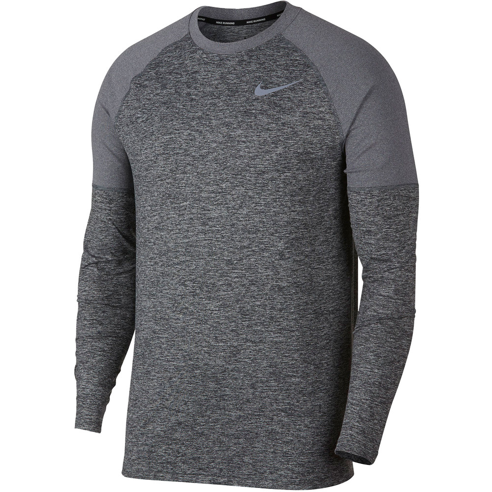Nike Element Crew Long Sleeve Tee #1