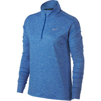 NIKE  Element Half Zip Long Sleeve Tee