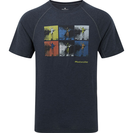 Ronhill Stride Graphic Short Sleeve Tee #1