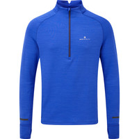 RONHILL  Matrix Half Zip Long Sleeve