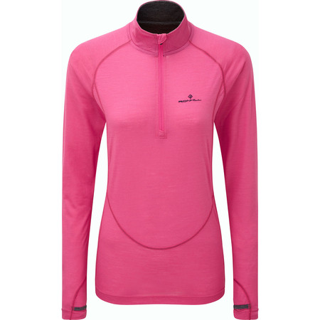 Ronhill Merino Half Zip Long Sleeve #1