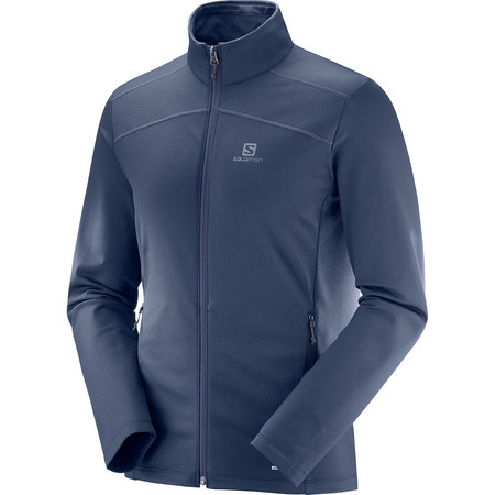Salomon Discovery Full Zip Long Sleeve #1