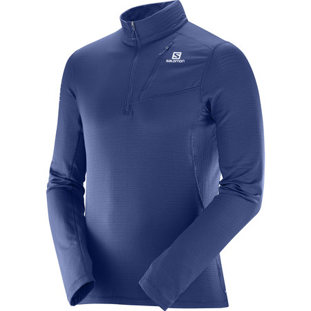 Salomon Grid Half Zip Long Sleeve #1