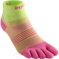 INJINJI  Run 2.0 Lightweight Mini Crew Toe Socks