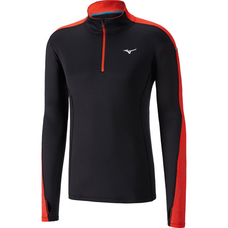 Mizuno Vortex Warmalite 1/2 Zip Long Sleeve #1