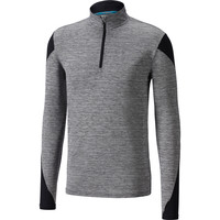 MIZUNO  Alpha 1/2 Zip Long Sleeve Tee