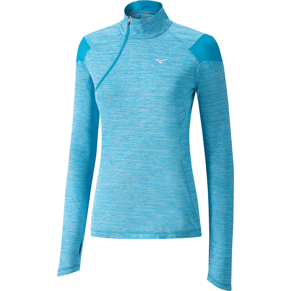 Mizuno Alpha 1/2 Zip Long Sleeve Tee #9