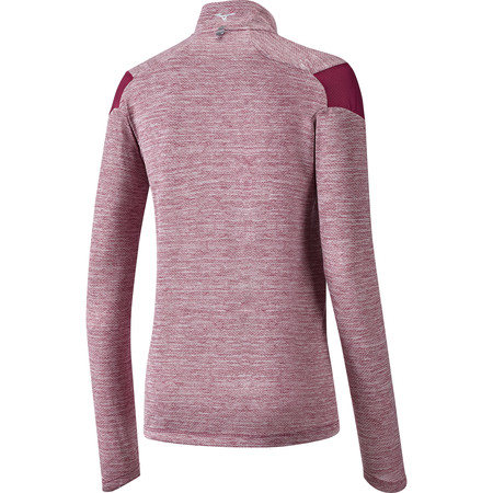 Mizuno Alpha 1/2 Zip Long Sleeve Tee #2