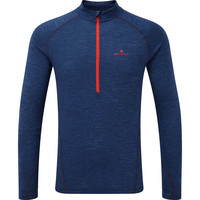 RONHILL  Merino Half Zip Long Sleeve