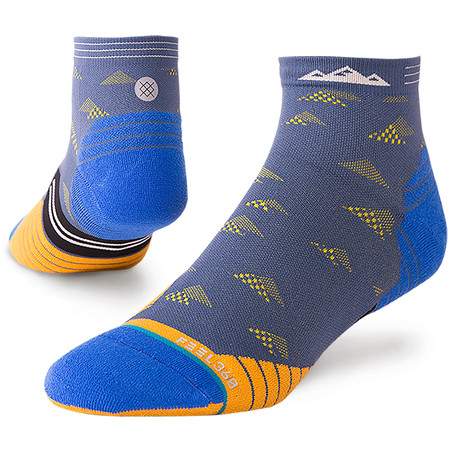 Stance Run Qtr Socks NEW Feel 360 #2