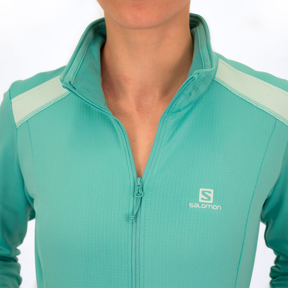 Salomon Discovery Full Zip Long Sleeve #6
