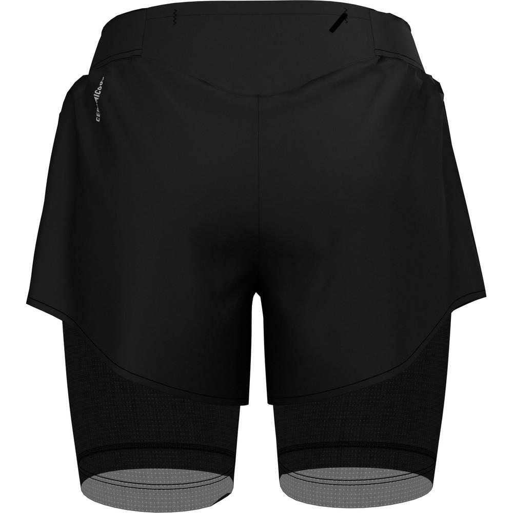 Odlo Zeroweight Ceramicool Pro Twin Shorts #2