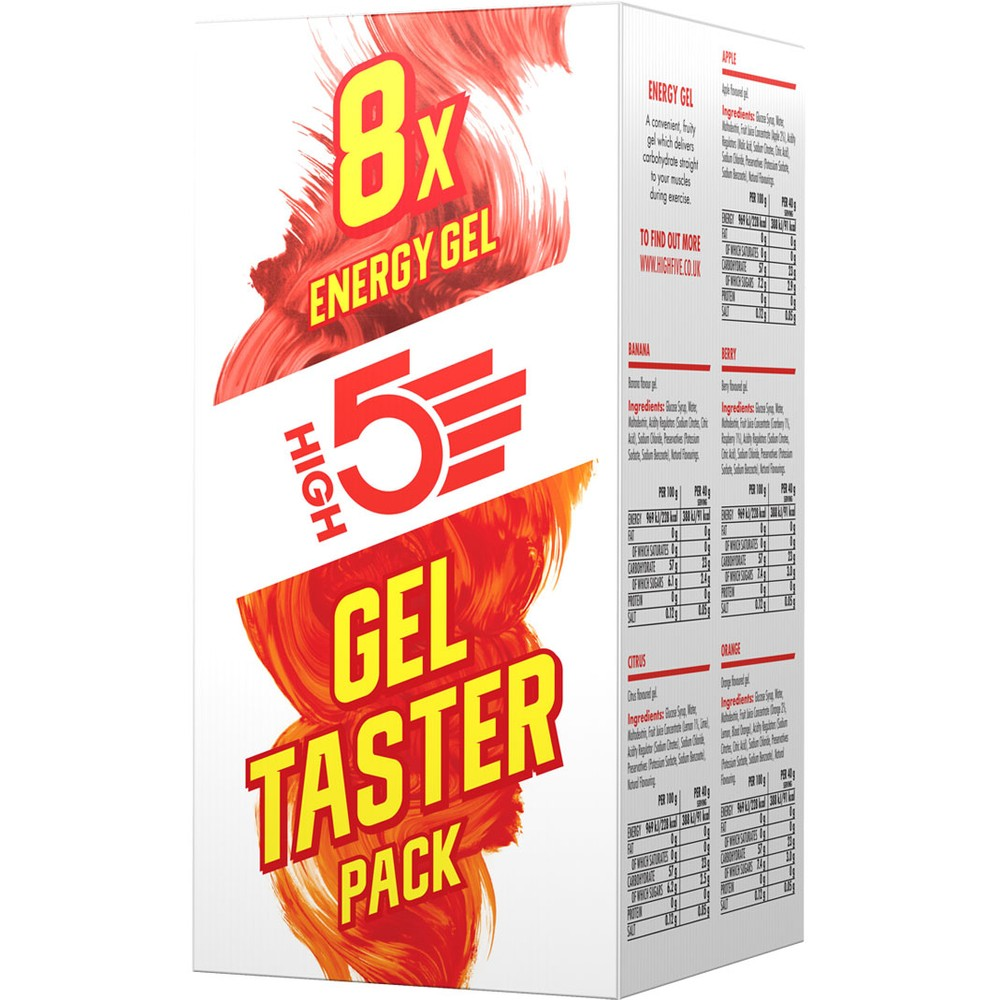 High 5 Energy Gel Taster Pack #1
