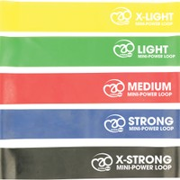 FITNESS-MAD Resistance Bands, Mini-Power Loop Set
