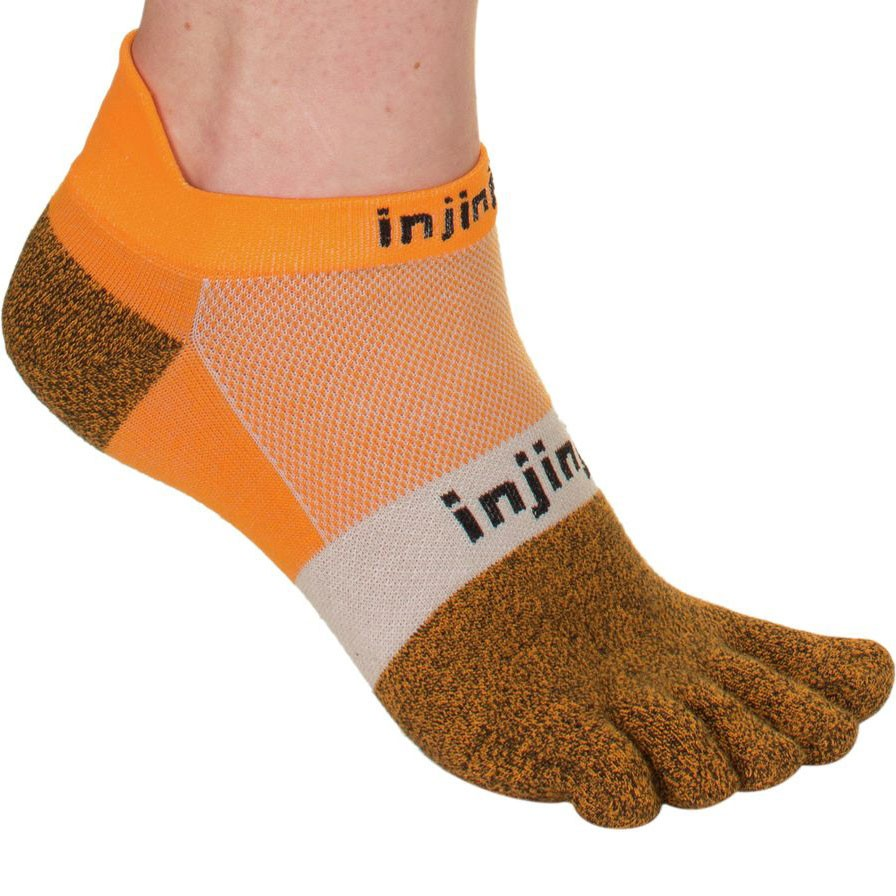 Injinji Run 2.0 Lightweight No Show Toe Socks #4