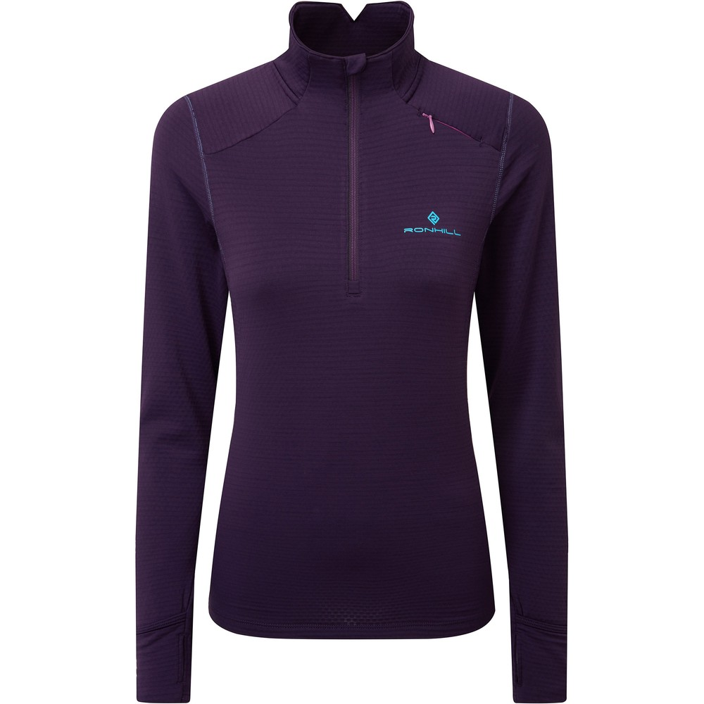Ronhill Stride Matrix Half Zip Top #1