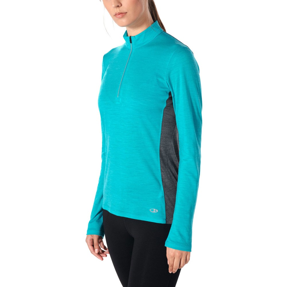 Icebreaker Amplify Half Zip Top #3