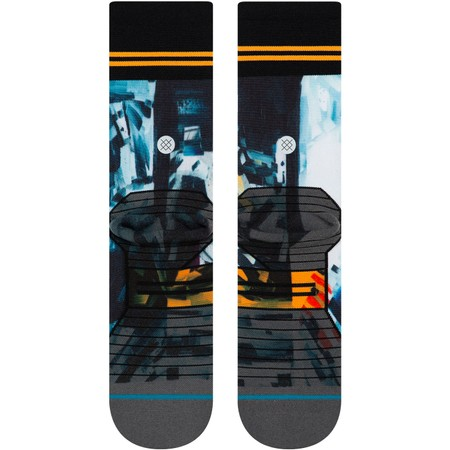 Stance Run Crew Michael Kagan Moon Man Socks #3